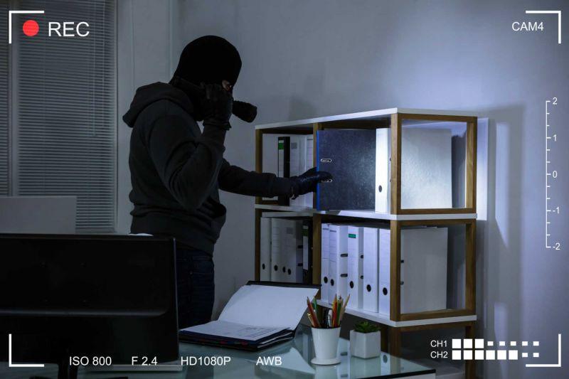 Smart-Homekamera meldet Einbrecher