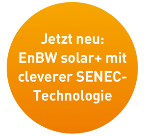 Störer: EnBW solar+ mit SENEC-Technologie