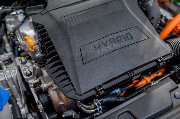 So sieht ein Hybridmotor aus