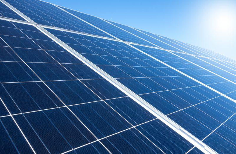 Solaranlage am Hausdach