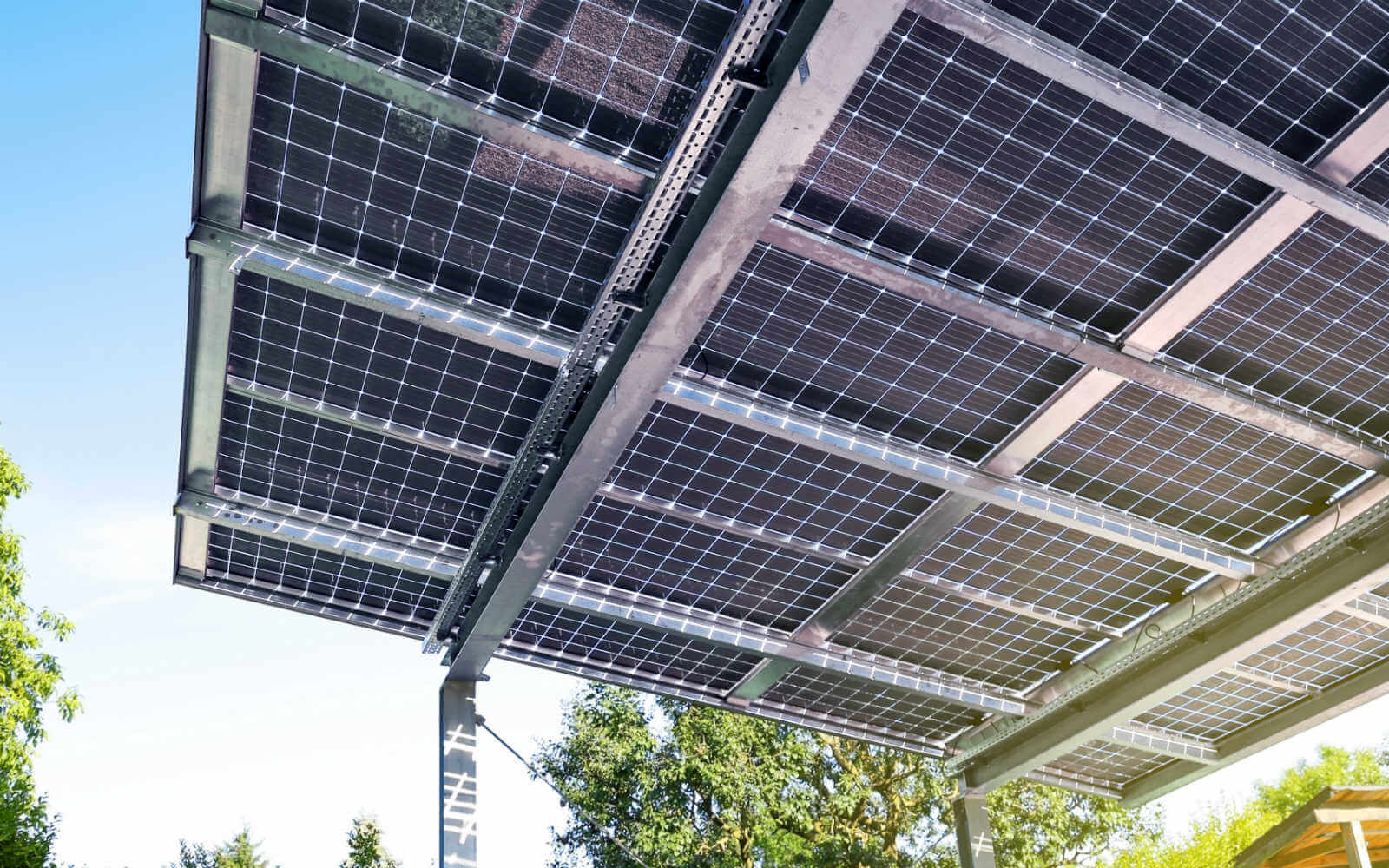 Solar Carport Energiequelle Und Sonnenschutz I Enbw