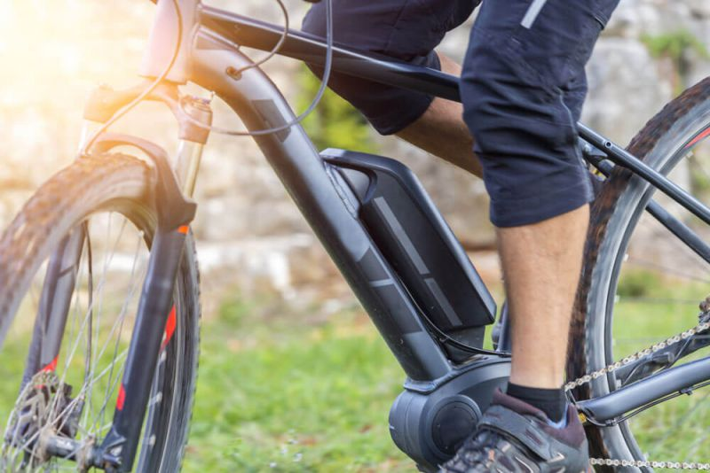 Akku eines E-Bikes