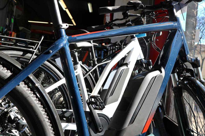 Akku am E-Bike