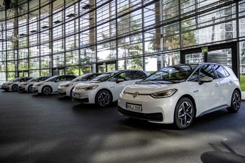 Die VW ID.3 Modelle im Autohaus