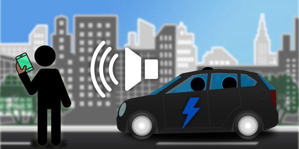 Soundgenerator E-Autos: Infografik Acoustic Vehicle Alerting System