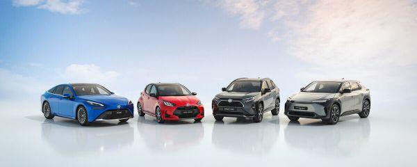 Verschiedene Toyota-Modelle